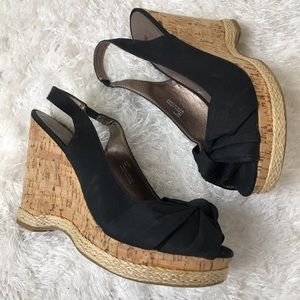 Michael | Black Hope Cork Wedges